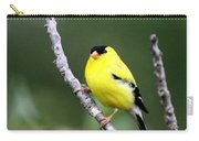 American Goldfinch - Single Male Carry-all Pouch