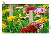 American Goldfinch In The Garden Carry-all Pouch