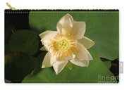 American Lotus Nelumbo Lutea Opening Carry-all Pouch