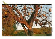 American Persimmon Tree Carry-all Pouch