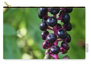 American Pokeweed Berries Carry-all Pouch