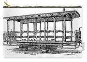 American: Streetcar, 1880s Carry-all Pouch by Granger