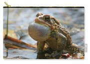 American Toad Croaking Carry-all Pouch