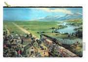 American Transcontinental Railroad Carry-all Pouch