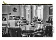 Americana - 1950 Kitchen - 1950s - Retro Kitchen Black And White Carry-all Pouch