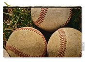America's Pastime Carry-all Pouch by Bill Owen
