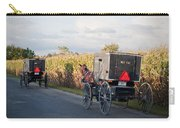 Amish Buggies October Road Carry-all Pouch