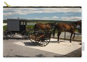 Amish Buggies Carry-all Pouch