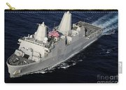 Amphibious Transport Dock Ship Uss San Carry-all Pouch