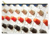 Amplifier Dials Carry-all Pouch by Tom Gowanlock