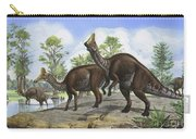 Amurosaurus Riabinini Dinosaurs Grazing Carry-all Pouch