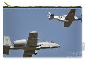 An A-10 Thunderbolt And A P-51 Mustang Carry-all Pouch