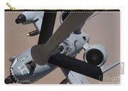An A-10 Thunderbolt II Receives Fuel Carry-all Pouch