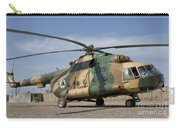 An Afghan Air Force Mi-17 Helicopter Carry-all Pouch