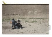 An Afghan Police Studen Fires Carry-all Pouch