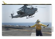 An Ah-1z Cobra Helicopter Takes Carry-all Pouch
