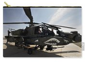 An Ah-64d Apache Helicopter Parked Carry-all Pouch