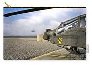 An Ah-64d Apache Helicopter Carry-all Pouch