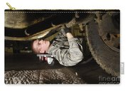 An Airman Inspects The Undercarriage Carry-all Pouch by Stocktrek Images