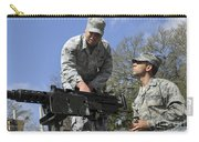 An Airman Instructs A Cadet On How Carry-all Pouch by Stocktrek Images