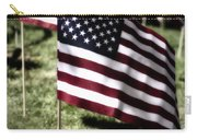 An American Flag Carry-all Pouch