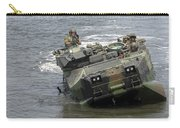 An Amphibious Assault Vehicle Climbs Carry-all Pouch