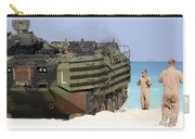 An Amphibious Assault Vehicle Is Guided Carry-all Pouch