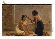 An Ancient Custom Carry-all Pouch by Edwin Longsden Long