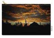 An Arizona Desert Sunset  Carry-all Pouch