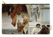 An Audience At Agrippa's Carry-all Pouch