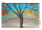 An Autumn Locust Tree Carry-all Pouch