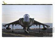 An Av-8b Harrier Maneuvers Carry-all Pouch