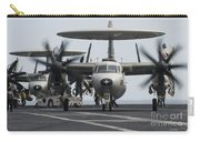 An E-2c Hawkeye Aircraft On The Flight Carry-all Pouch