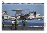 An  E-2c Hawkeye Launches From Aboard Carry-all Pouch by Stocktrek Images
