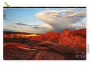 An Evening In The Valley Of Fire Carry-all Pouch