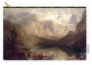 An Extensive Alpine Lake Landscape Carry-all Pouch