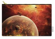 An Eye-shaped Nebula And Ring Carry-all Pouch