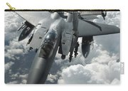 An F-15 E Strike Eagle Receives Fuel Carry-all Pouch by Stocktrek Images