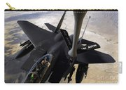 An F-15e Strike Eagle Aircraft Receives Carry-all Pouch by Stocktrek Images