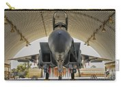 An F-15i Raam Parked In The Hangar Carry-all Pouch