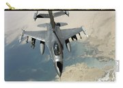 An F-16 Fighting Falcon Refuels Carry-all Pouch
