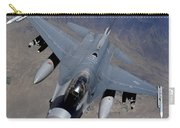 An F-16 Fighting Falcon Returns Carry-all Pouch