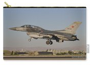 An  F-16b Of The Turkish Air Force Carry-all Pouch