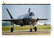 An F-35 Lightning II Taxiing At Eglin Carry-all Pouch