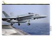 An Fa-18c Hornet Catapults Carry-all Pouch