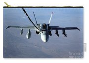 An Fa-18c Hornet Receives Fuel Carry-all Pouch by Stocktrek Images