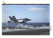 An Fa-18e Super Hornet Catapults Carry-all Pouch