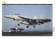An Fa-18e Super Hornet Prepares Carry-all Pouch