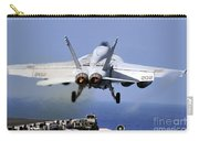 An Fa-18e Super Hornet Takes Carry-all Pouch