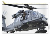 An Hh-60g Pavehawk Helicopter In Flight Carry-all Pouch